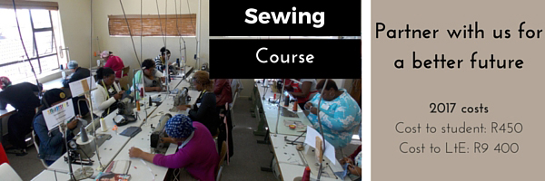 Sewing cost for 2017