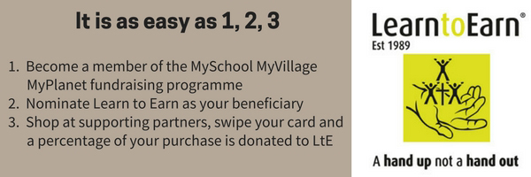 Become a MySchool card holder and support LtE